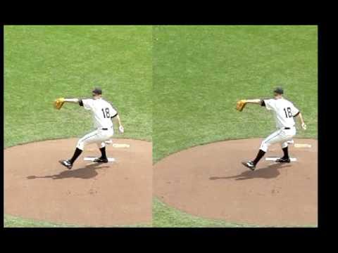 RHP Matt Cain:  Fastball/Slider comparison