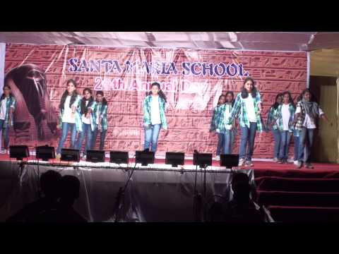 """Santa Maria School, Trichy, India: """"We will dance for your glory"""""""