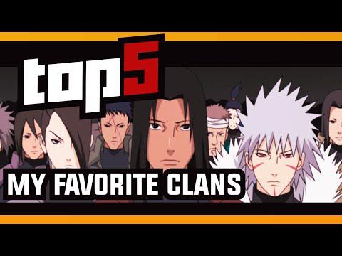 Naruto Top 5 - My Favorite Naruto Clans w/ ShinoBeenTrill thumbnail