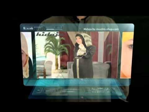 www.muslim-shop.com islamische Kleidung, Abaya, Hijab Styles