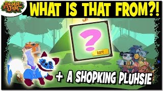 I HAVE NEVER SEEN THIS ITEM! + A SHOPKING PLUSHIE! ANIMAL JAM