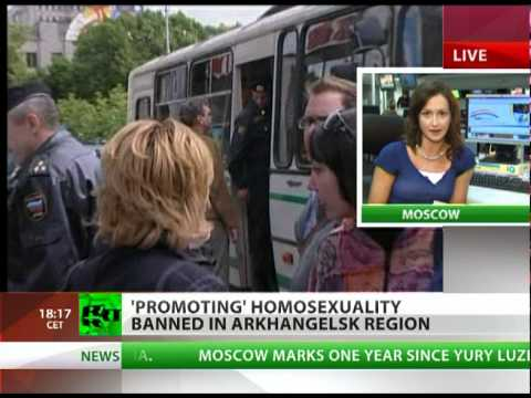 Gay activism banned in Russian region