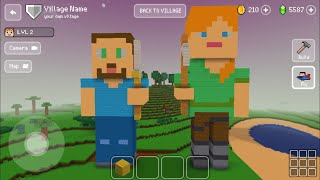 Block Craft 3D : Building Simulator Games For Free Gameplay#441 (iOS & Android) | Steve & Alex