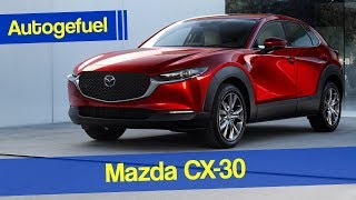 Between CX-3 and CX-5: New Mazda CX-30 REVIEW - Autogefuel
