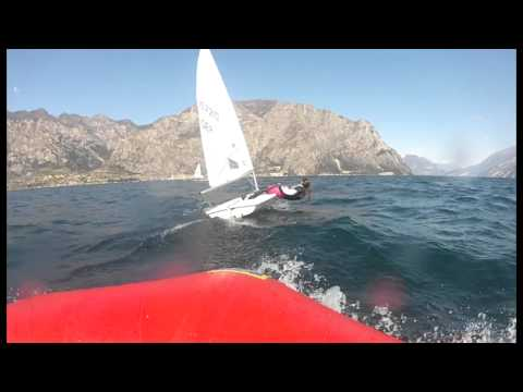 420er and Laser Sailing - Gardasee 2015 (VBS)