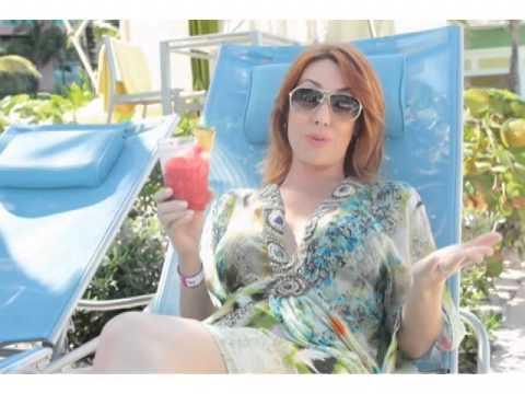 Natalie Poolside at Atlantis Bahamas