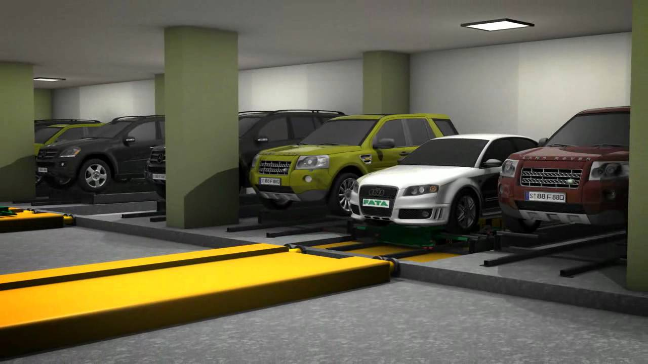 Automatic Car Parking System Video