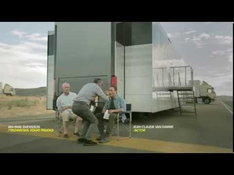 Видео как снимали рекламу Вольво с Ван Даммом