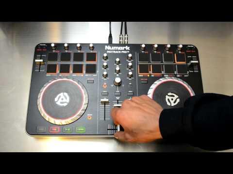 Numark Mixtrack Pro II Digital DJ Controller HD-Video Review & Demo
