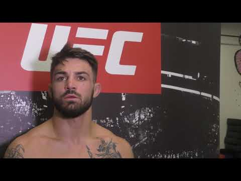 Mike Perry UFC Fight Night 116 Open Workout Media Scrum