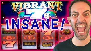 💥 INSANE 300X LINE HIT on Vibrant 7s🎰 +MORE!✦ Seneca Niagara Casino ✦ Slot Machine Pokies w Brian
