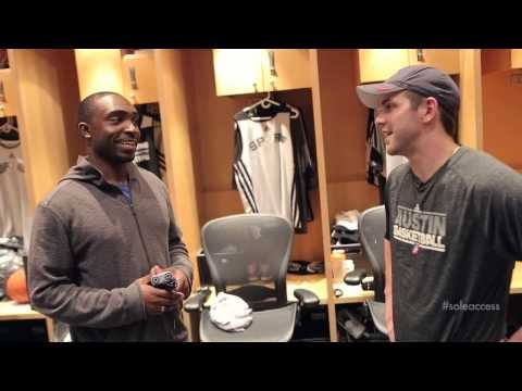 Sole Access: Inside the San Antonio Spurs  Locker Rooms