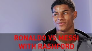 RIO AND RASHFORD… ON RONALDO V MESSI