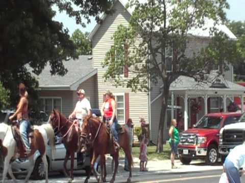 Pilot Grove Missouri Rodeo Parade 2011