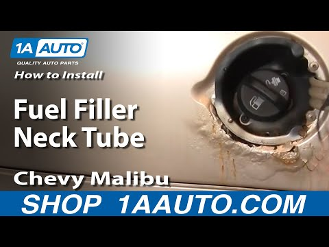How To Install Replace Fuel Filler Neck Tube Chevy Malibu 97-03 1AAuto.com