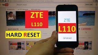 Hard reset ZTE L110 Сброс графического ключа zte l110