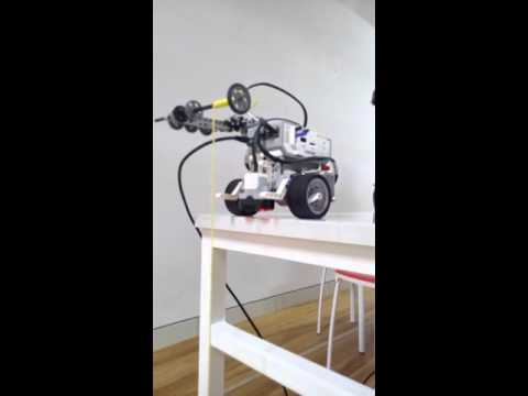 Nuclear waste robot