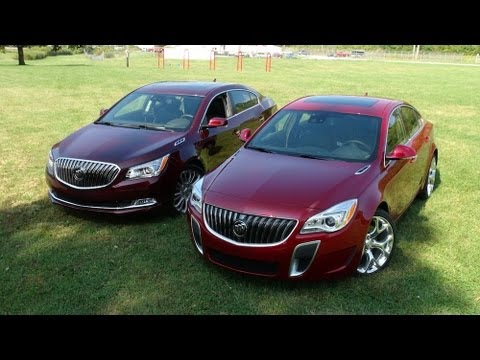 2014 Buick Regal GS vs LaCROSSE 0-60 MPH Mashup Review