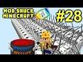 Minecraft Mod Sauce Ep. 28 - Insane Power !!! ( HermitCraft Modded Minecraft )