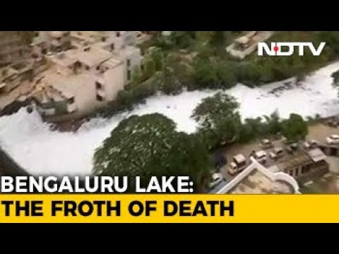 Residents 'Trapped' As Bengaluru Lakes Froth Like Never Before
