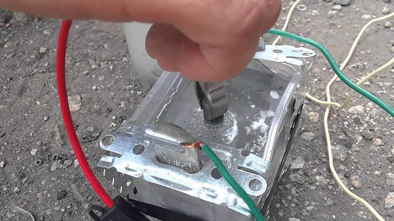 Электрохимическое металла домашние условие
