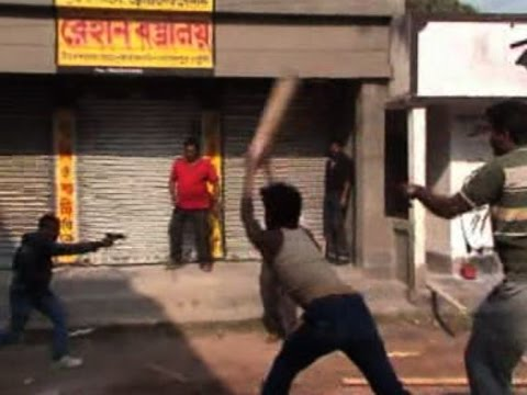 Trinamool-Congress clashes in Murshidabad