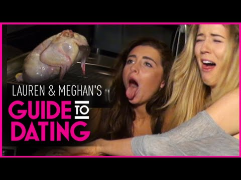 Lauren Elizabeth & Meghan Rienks COOK A CHICKEN for Denis!! | GUIDE TO DATING