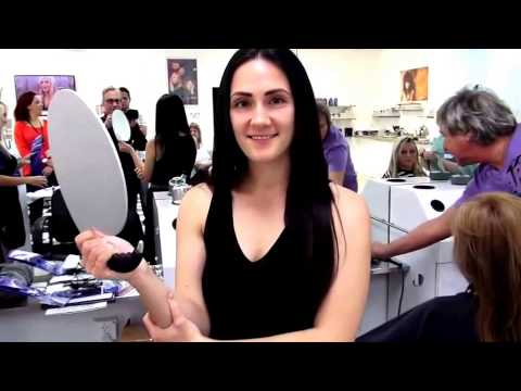 Platinum Seamless Hair Extensions - YouTube