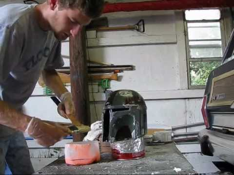 How to mold a helmet Part 1
