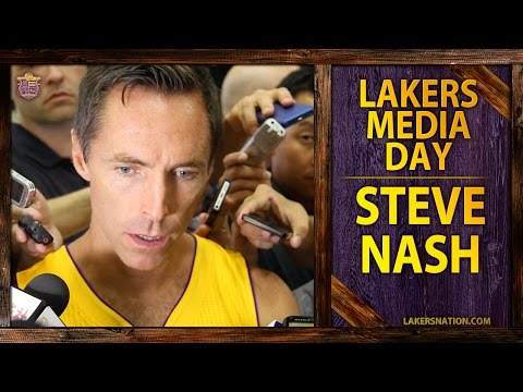 Lakers Media Day 2014: Steve Nash Voices Uncertainty With Upcoming Season