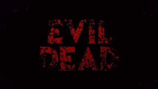 'Evil Dead' Titles Tutorial ~ After Effects.