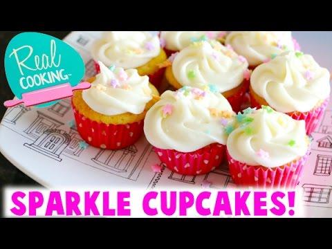Real Cooking Ultimate Baking Starter Set - I Bake Sprinkle Sparkle Cupcakes!