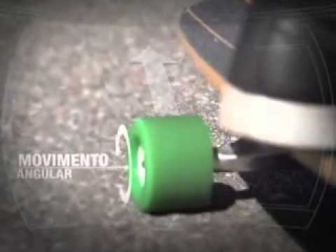 Skate - Movimento Angular e Linear   Ciência em Quadro