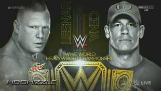 WWE Night of Champions 2014 - Official & Full Match Card [HD]