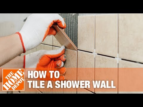 How To Install A Bathtub And Shower Surround With Tile The Home Depot You