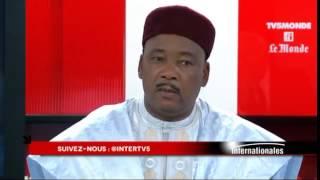 Interview du président de la République Mahamadou Issoufou sur TV5 le 18 mai 2014