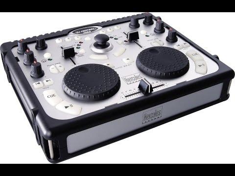 Hercules DJ Control mp3  Огляд контроллера  (інструкція використання)