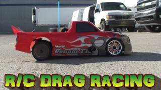 RC ADVENTURES - RC DRAG RACING  #1 - CALGARY R/C DRAGWAY