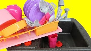 Kitchen Toys for Children: Kids Toy Kitchen Set - Cooking Soup Sink & Stove