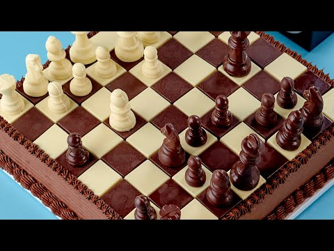 CHESS CAKE - NERDY NUMMIES