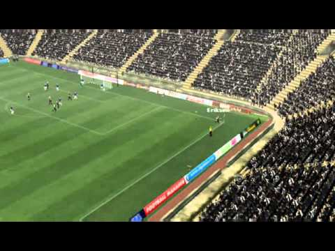 Newcastle vs Everton - Yanga-Mbiwa Goal 90 minutes