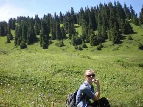 Hiking with GOD on mountains in Almaty, Kazakhstan