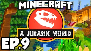 Jurassic World: Minecraft Modded Survival Ep.9 - DINOSAUR DNA!!! (Rexxit Modpack)