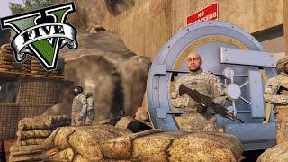 GTA V Editor De Mapas - El Refugio Militar Secreto ! El Bunker OMG - ElChurches