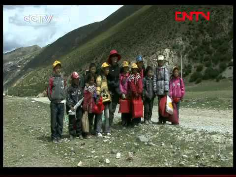 Sharing Joy with Tourists in Tibet