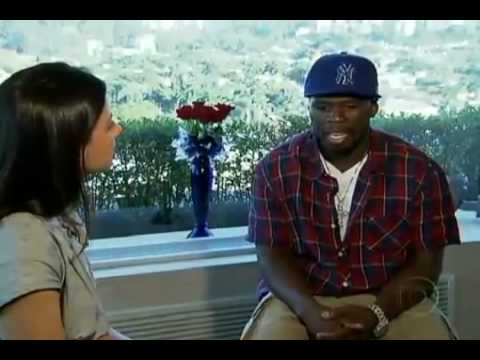 50 Cent em entrevista ao Jornal da Globo / 50 cent interview tour brazil Music Videos
