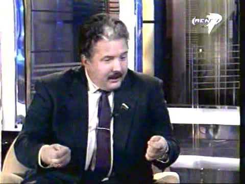 Жириновский объясняет в интервью кто кого побил