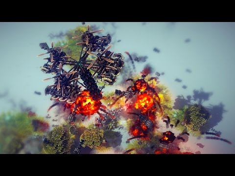 DEATH FROM ABOVE | Besiege #4