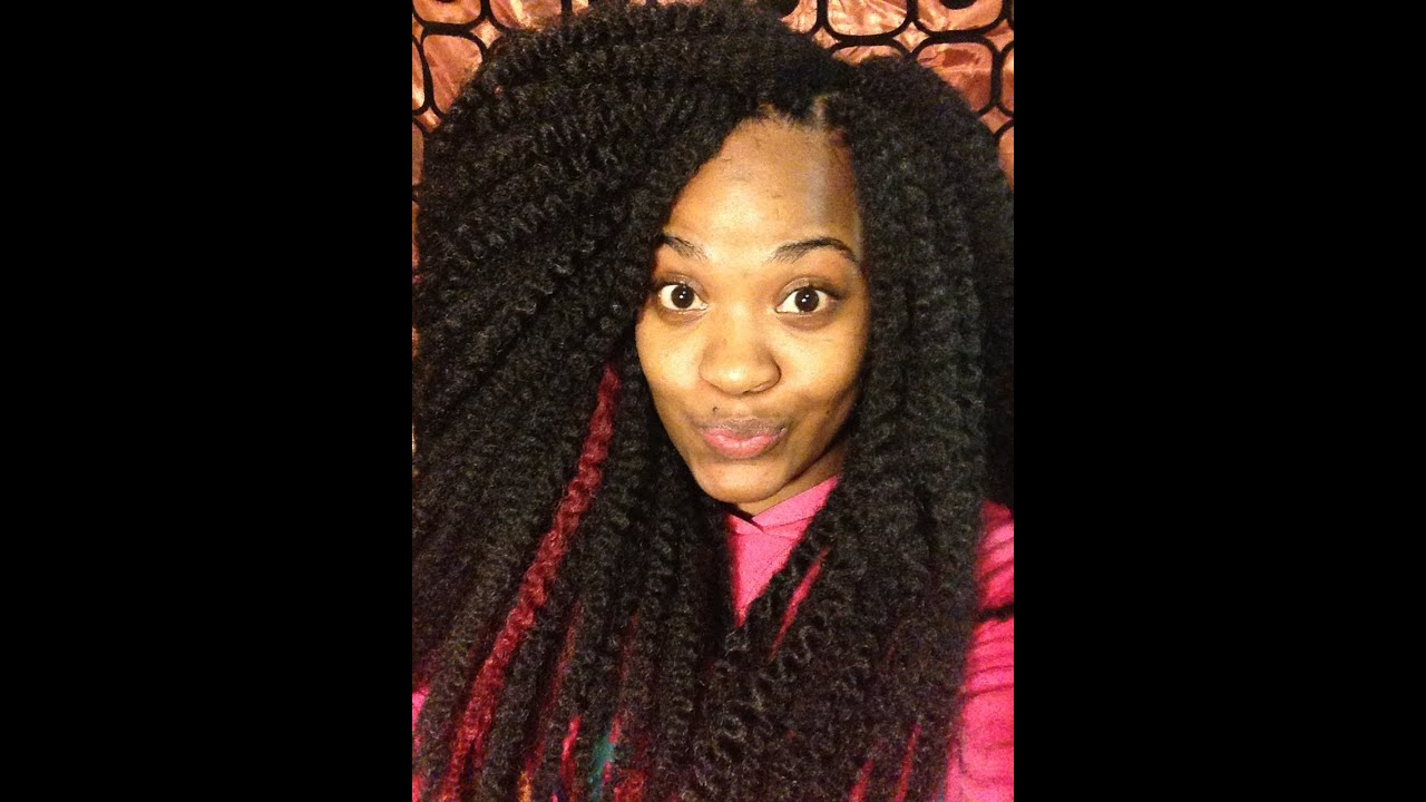 Crochet Hair Youtube : Crochet Marley Hair - YouTube