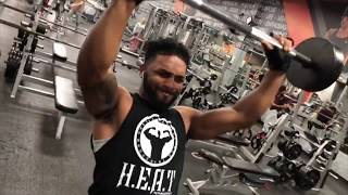 Tstarks (H.E.A.T Fitness) Feat. Aden Rahmanovic - Best Killer Shoulder Workout!!